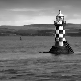Port Glasgow Lighthouse by Jon Marshall - Landscapes Waterscapes ( lighthouse, nikon, port glasgow )