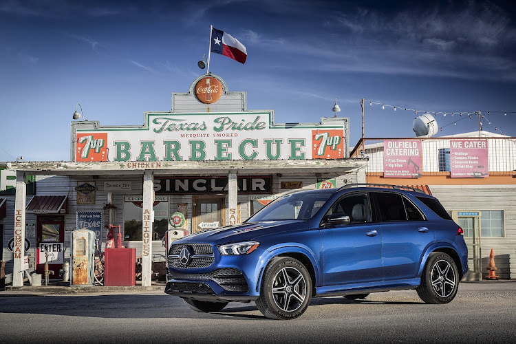 The new GLE had its world unveiling in Texas.