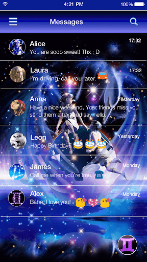 玩個人化App Gemini Emoji Keyboard Theme免費 APP試玩