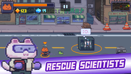 Cat Gunner: Super Force 1.1.7 {cheat|hack|gameplay|apk mod|resources generator} 1