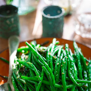 Simple Skillet Green Beans.
