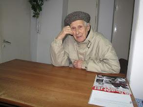 Photo: Rok 2012, z wizytą w pracowni Janka SP6VXV. Kazik ma przeszło 89 lat.