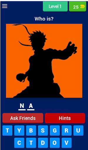 Guess The Character: Naruto 3.13.7z screenshots 1