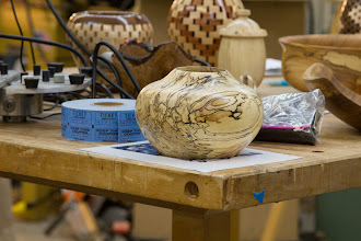 "Photo: Benji O. ~7"" x ~6"" vessel [spalted maple]"