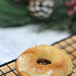 Egg Nog Doughnut