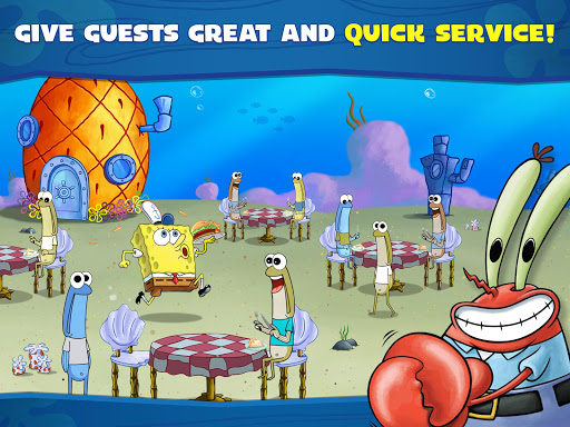 SpongeBob: Krusty Cook-Off android2mod screenshots 13