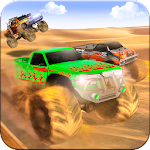 Monster Truck Desert Death Race Icon