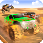 Monster Truck Desert Death Race