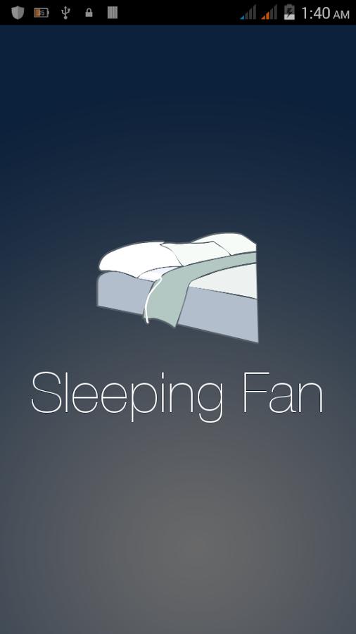 Fan Sounds Sleeping