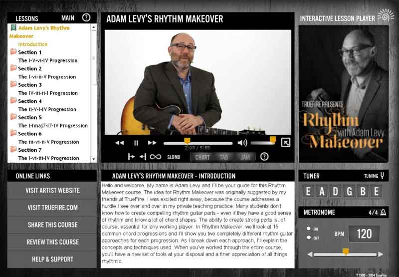 Adam Levy - Rhythm Makeover