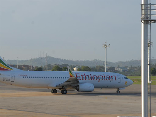 An Ethiopian Airlines jet.