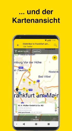 Gelbe Seiten - Auskunft und mobiles Branchenbuch 6.16-0381813b0 screenshots 3