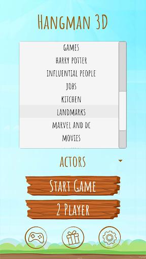 Hangman 3D screenshot 3