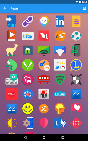 Rewun - Icon Pack v1.3.0 APK - Screenshot