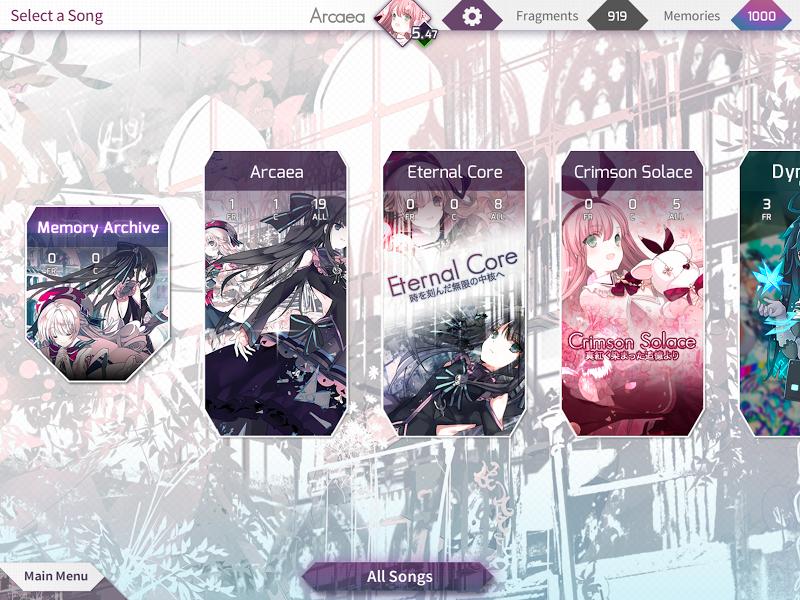 Arcaea - New Dimension Rhythm Game Screenshot 13
