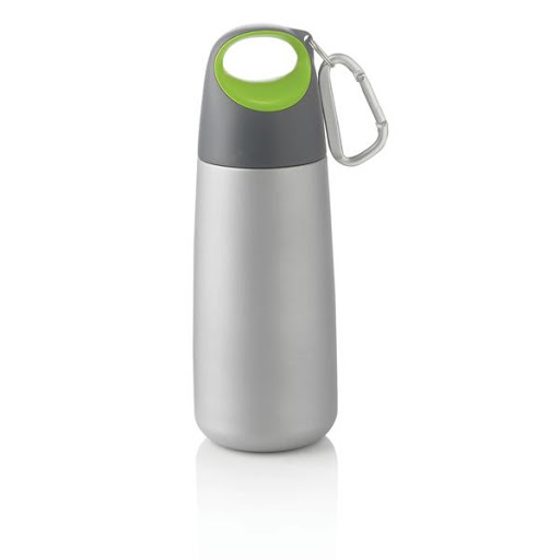 Branded Mini Water Bottle with Carabiner
