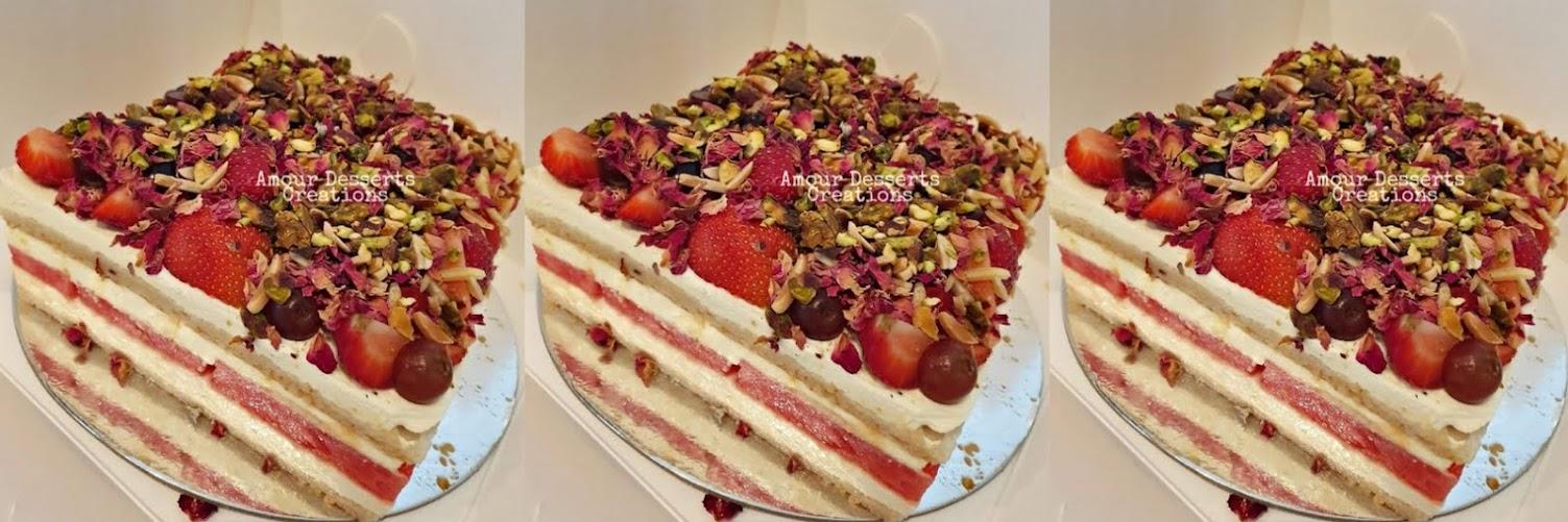 Altona: Strawberry Watermelon Cake Baking Workshop (Sunday)