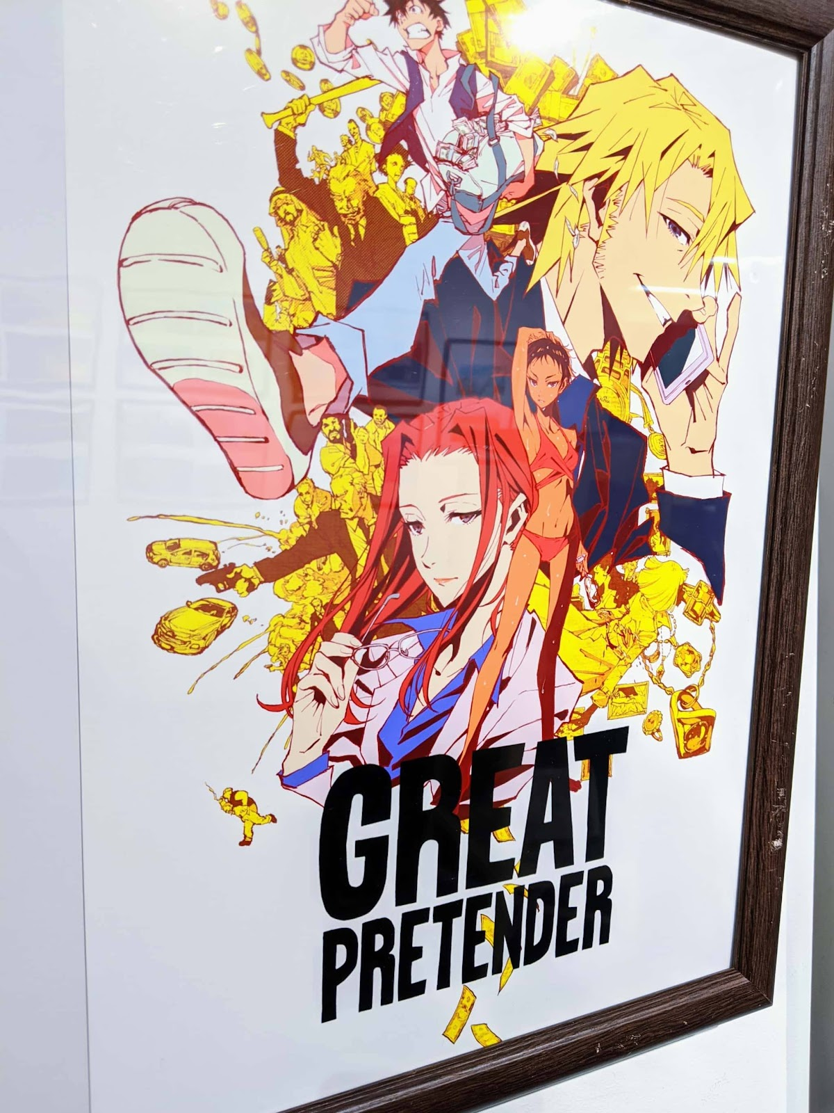 「GREAT PRETENDER 制作資料展」(グレプリ)画像