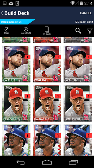 Topps BUNT - screenshot