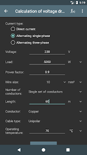 Electrical calculations apps on google play screenshot image greentooth Image collections