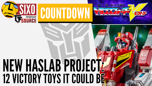 COUNTDOWN: New Haslab project – 12 Victory toys it could be