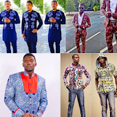African men clothing styles - Men shirt & Ankara