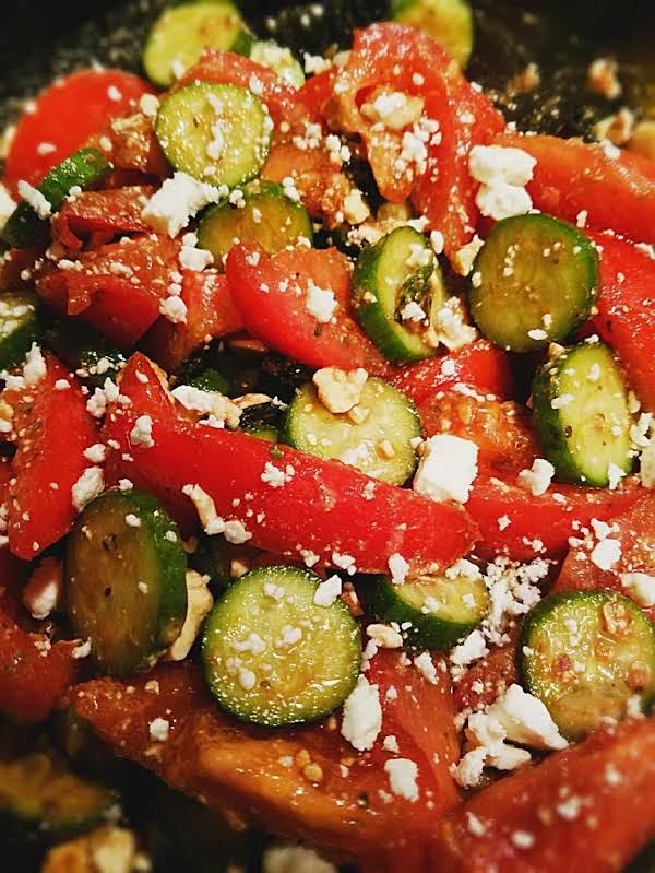Feta Tomato And Cucumber Salad