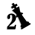 2 move checkmate chess puzzles icon