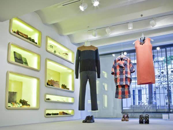 thiết kế shop thời trang Marni 3