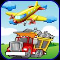 Aeroplane & Truck Puzzles icon