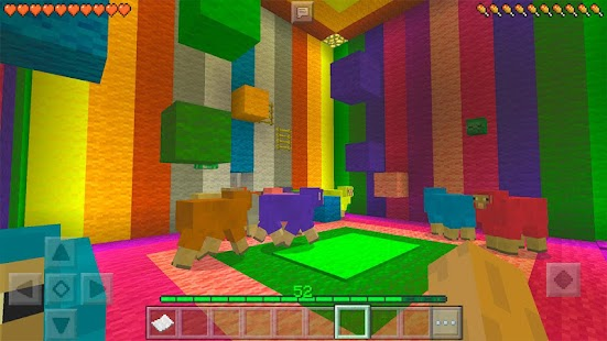 Find The Button MCPE Minigame - náhled