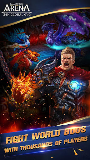 Fallen Souls - Dragon Battle screenshot 14