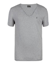 Photo: Tonic Scoop Tee>>  UK>http://bit.ly/QxQpIy US>http://bit.ly/OgdKQY  The Tonic Scoop T-shirt in grey marl is a lightweight, short sleeve scoop with signature ramskull embroidery. This style has undergone a heavy wash for a super soft hand feel.