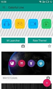 Colorful Icons Pack & Theme v1.0.8