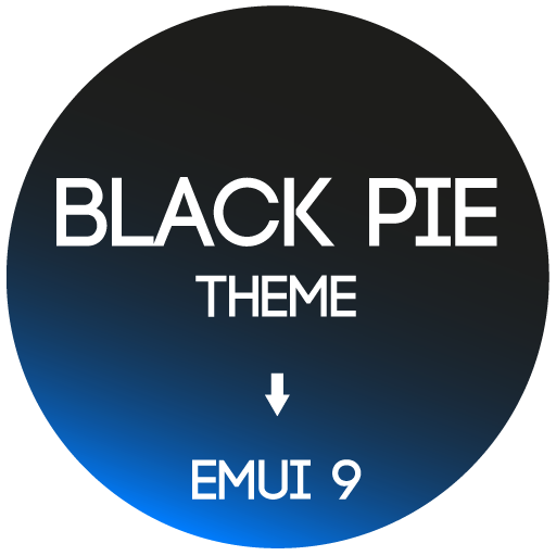 Black Pie Theme for EMUI 9 / 9.1 Huawei/Honor APK Cracked Download
