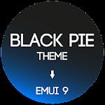 Black Pie Theme for EMUI 9 / 9.1 Huawei/Honor 10.0 (Paid)