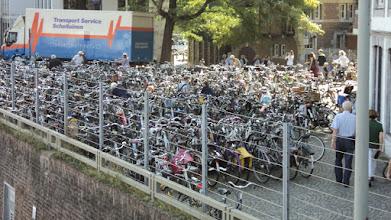 Photo: veel fietsen