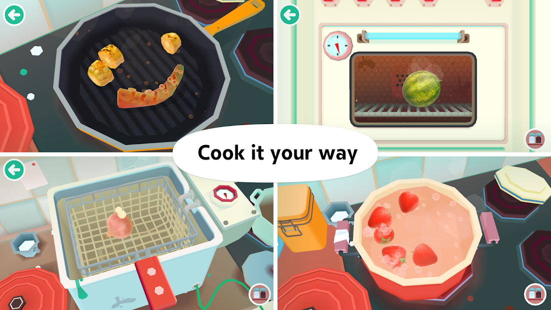 Toca Kitchen 2 Android App Screenshot