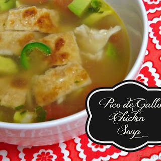 Pico de Gallo Chicken Soup.