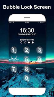 Lock screen for ios 8-Phone Keypad lock screen - náhled