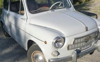 Fiat 600 D Rent Liguria