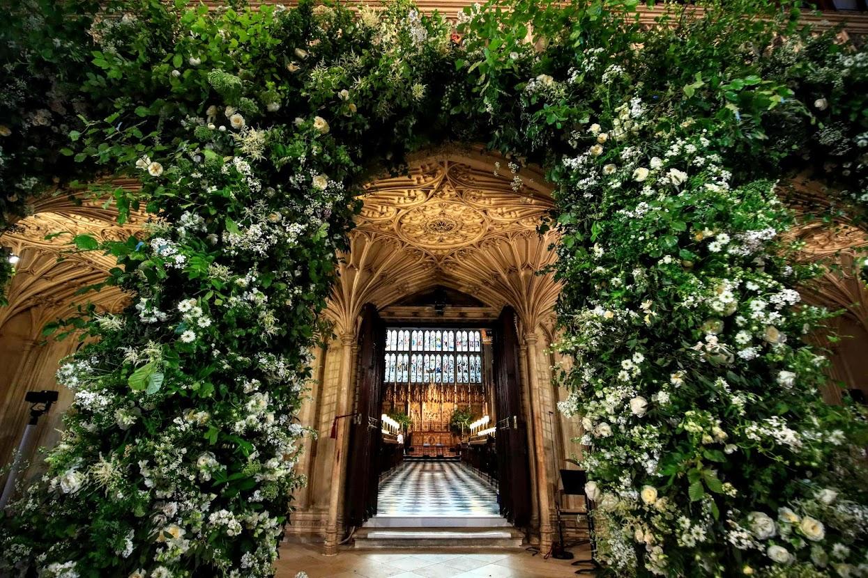 prince harry's wedding flowers