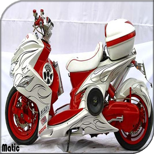 Modified Motorcycle Matic