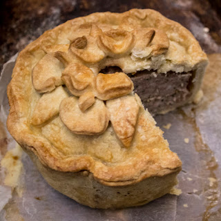 Hot Water crust pastry technique – and wild boar and apple spiced hand raised pie