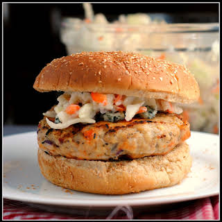 Buffalo Chicken Burgers.