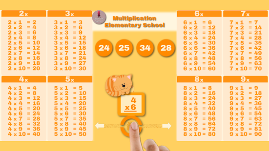 Multiplication School Screenshot
