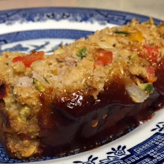 Vegetable Turkey Meatloaf.
