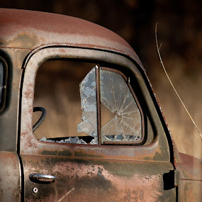 Seen Better Days by Michael Spain - Transportation Automobiles