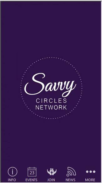 Savvy Circles Network- screenshot