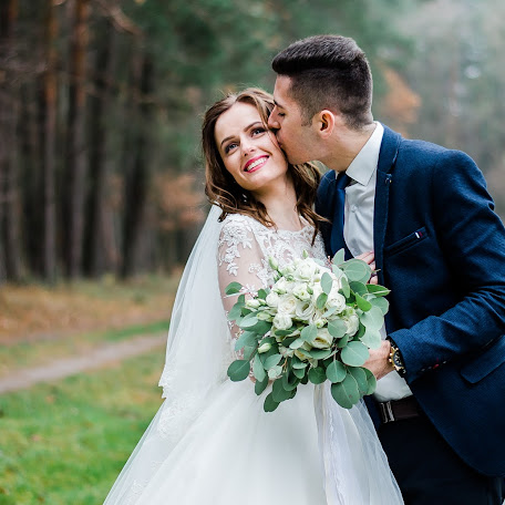 Wedding photographer Nadezhda Gributa (nadezhdaphoto). Photo of 09.01.2018